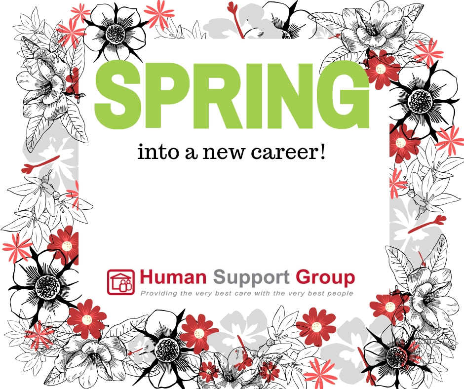 Spring into a new career